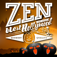 Zen West Hollywood Halloween Day 2017