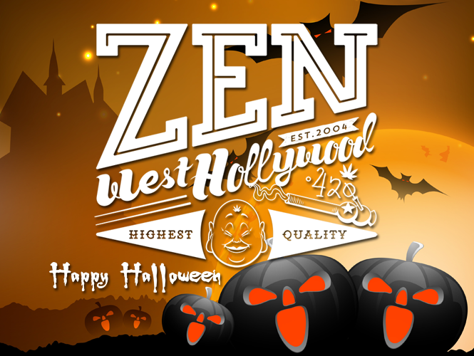 Zen West Hollywood Halloween 2017